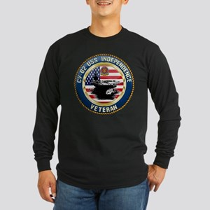 CV-62 USS Independence Long Sleeve Dark T-Shirt